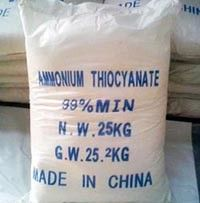 China Ammonium Thiocyanate crystal CAS 1762-95-4 for Metal finishing supplier