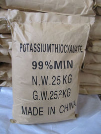 China CAS 333-20-0 Electroplating Raw Materials Potassium Thiocyanate Photographic Industry For Tonong supplier