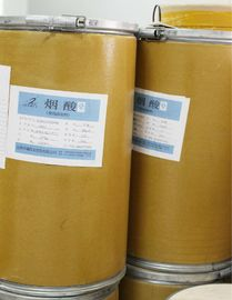 China White Crystalline Powder Nicotinic Acid For Medicine / Feedstuff / Electroplate Field factory