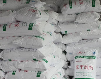 China Sodium Benzoate Electroplating Raw Materials Powder / Granular / EDF factory